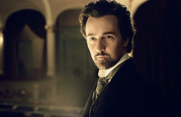 Edward Norton in The Illusionist