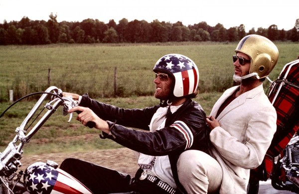 Jack Nicholson and Peter Fonder in EASY RIDER