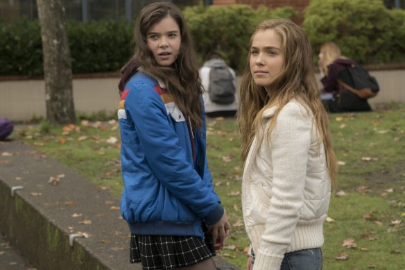 Steinfeld and Lu Richardson in The Edge of Seventeen